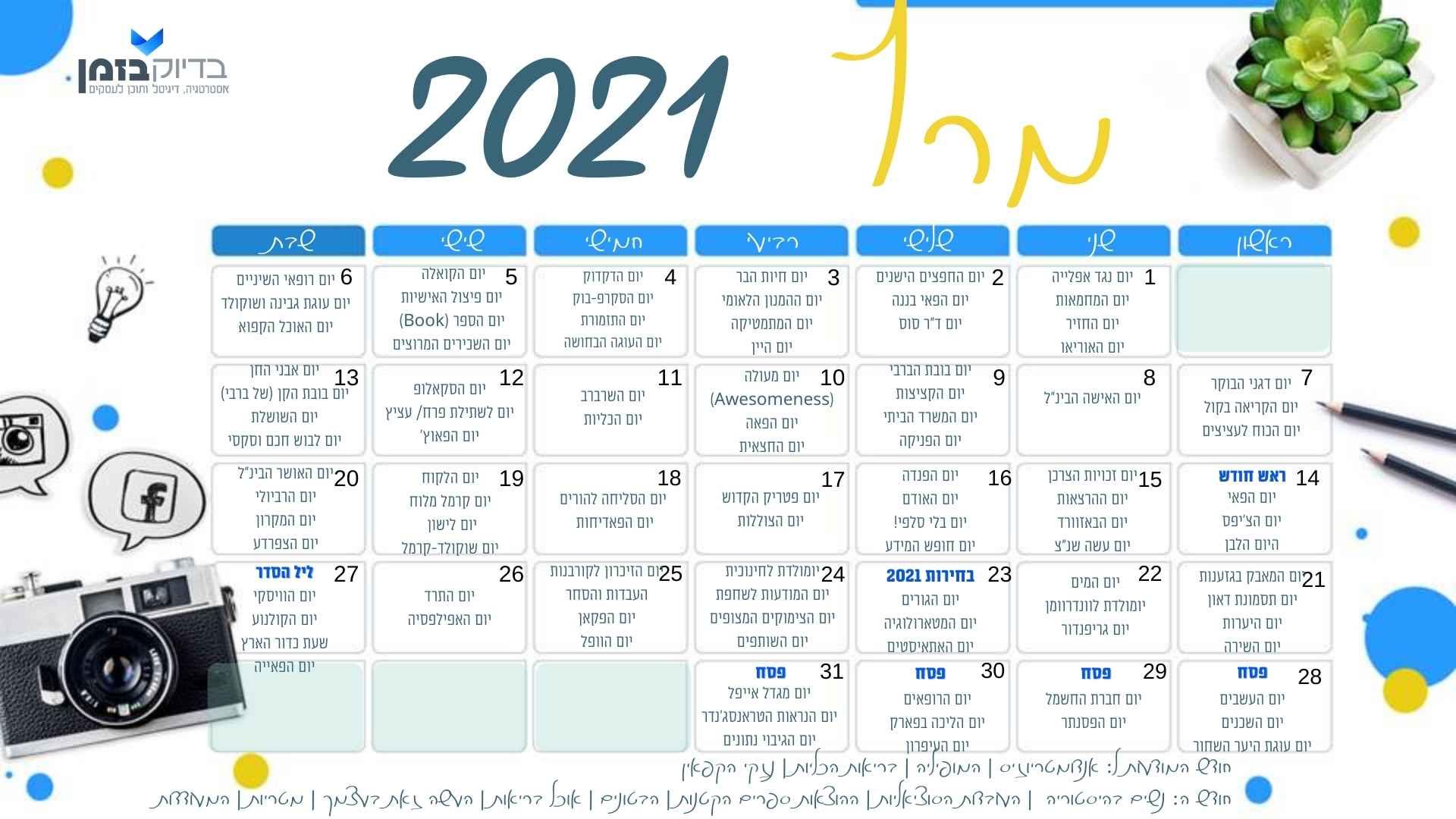 הימים של מרץ 21